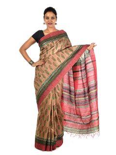 Sitakumbhi Tussar Silk Saree