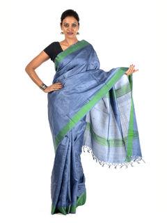 Krsna Tussar Silk Saree