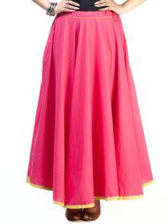 Strawberry Flared Skirt