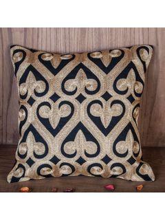 Zehreen Black Ace Cushion