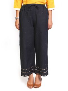 Gol patti black Pants