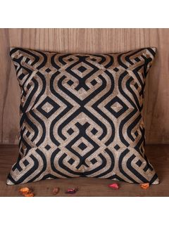 Zehreen Black Malka Cushion