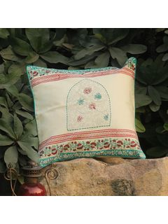 Rose Red Kusum Kostha cushion