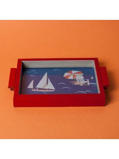 Set to sail tray