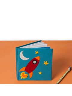 Blue Fly to the sky Notebook
