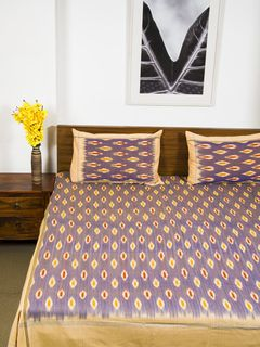 Omala Double Bedsheet with Pillow Cover