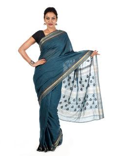Hiravata Maheshwari Cotton Saree