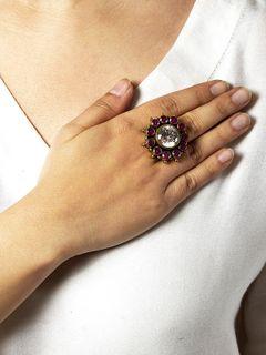 Byzantium Silver Ring