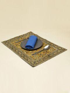 Hazel Celia Kalamkari Table Mat