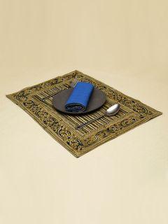Risna Stripes Kalamkari Table Mat