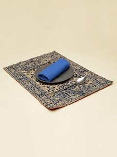 Jean Paisley Kalamkari Table Mat