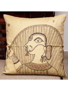 Virgo Zodiac Sign Cushion Cover - 16 X 16 Inch