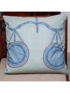 Libra Zodiac Sign Cushion Cover - 16 X 16 Inch