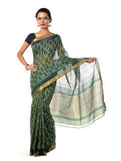 Krsna Mangalagiri Cotton Saree