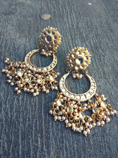 Kundan Dangle Earrings -