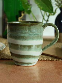 Green Groovy Mug