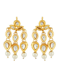 Kundan Dangle earrings