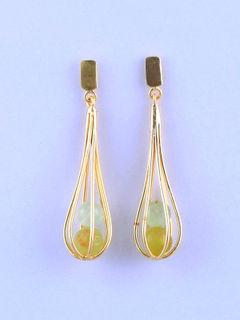 Stonie Oliv Earrings