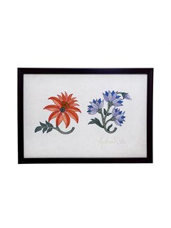Floral Horrizontal Wallhanging