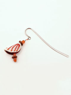 Chrysalis Bookmark - Orange