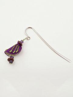 Chrysalis Bookmark - Purple