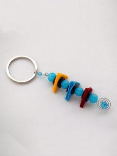 Balancing Act Keychain - Blue