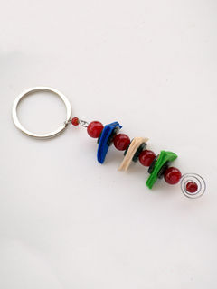 Balancing Act Keychain - Red