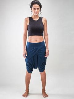 Teal Dhoti Shorts