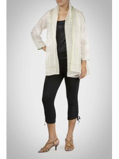 Light Green Chanderi Shrug