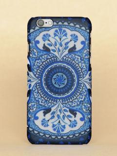 Blue Kaleidoscope Iphone 6 case