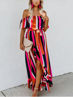 e9a72a6755c0 Fresh Summer Off shoulder Maxi Flare dress - Also in Plus Size