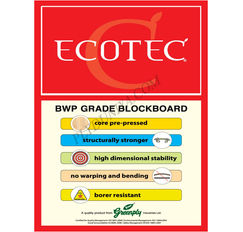 Greenply Ecotec Mr Grade (Commercial) Block Board Thickness 19 Mm Block Board