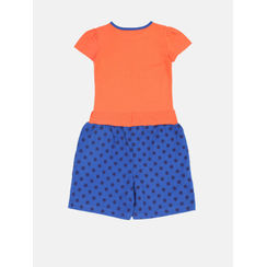Nuteez Cute C Tee & Shorts Set for Girls