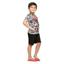 Mighty Power-Kids Shorts Set