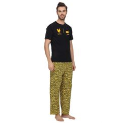 Before and After & Stronger at Night-Men PJ Set
