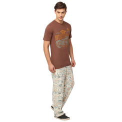 Bike & Stamps-Men PJ Set