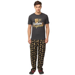 Dollar and Rupee-Men PJ Set
