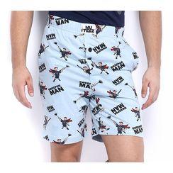 Sweeper man-Men Shorts