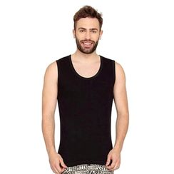 Plain Tank Top-Men Tee
