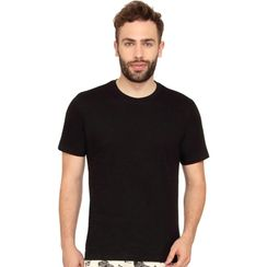 Plain Round Neck Tee-Men Tee