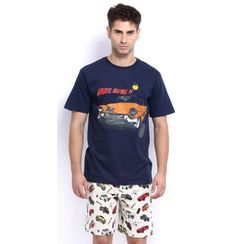 Drive Away-Men Shorts Set