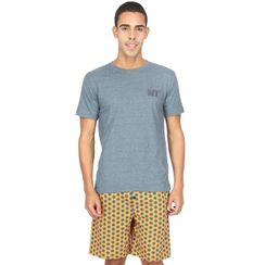 Hexagon-Men Shorts Set