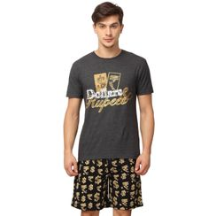 Dollar and Rupee-Men Shorts Set