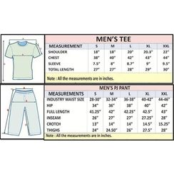 Good Dog & Stronger at Night-Men PJ Set