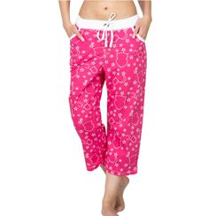 Wide Awake -Women Capri