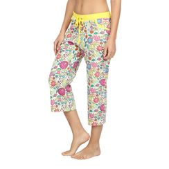 Flower Power-Women Capri
