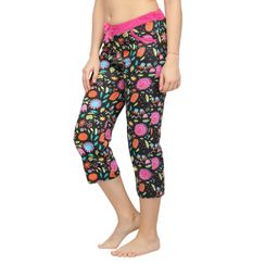 Flower Power -Women Capri