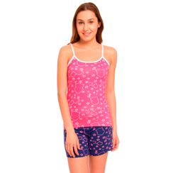Wide Awake-Women Cami top Shorts Set