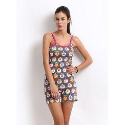 I Am Doll-Women Cami top Shorts Set