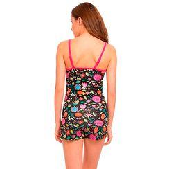 Flower Power-Women Cami top Shorts Set